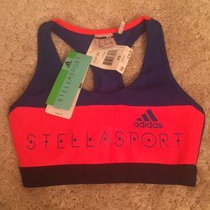 Adidas Stellasport Sports Bra NWT
